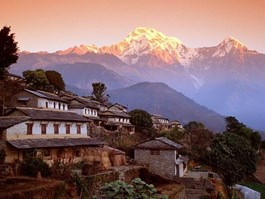 Nestled in Himalaya